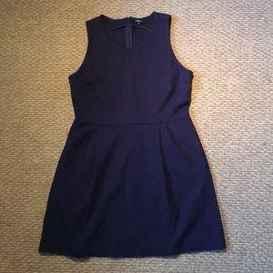 Madewell Knit Navy Blue Dress
